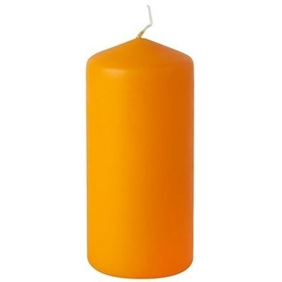 Stompkaars oranje 10 cm