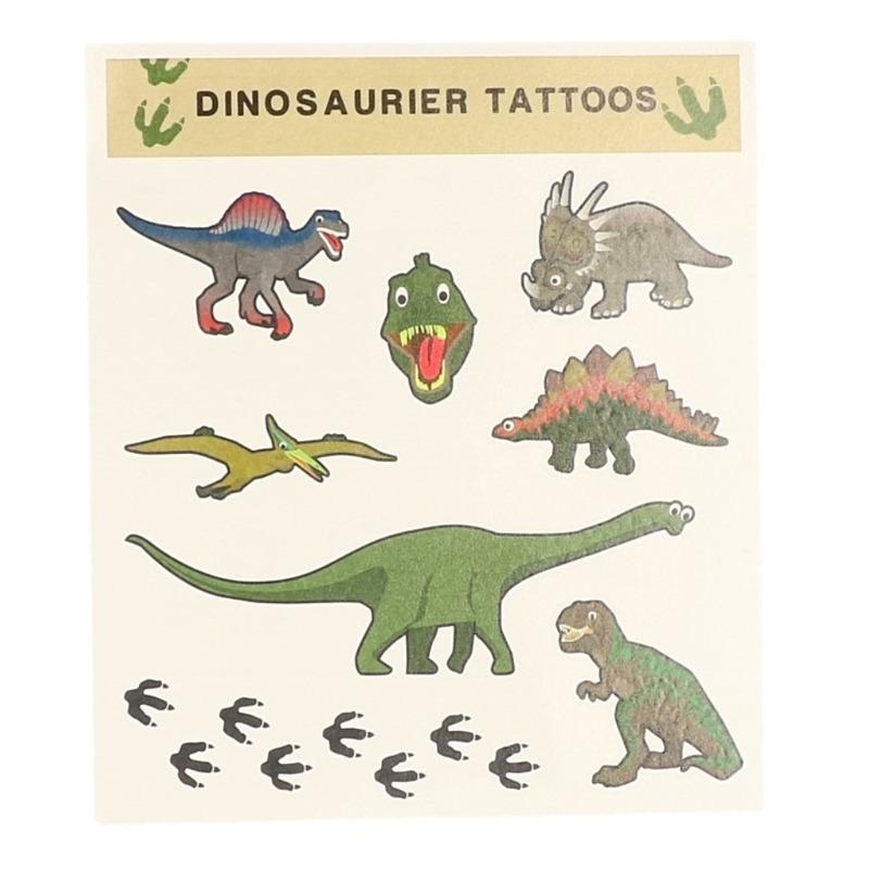 Tattoo stickers dinosaurussen 8 stuks