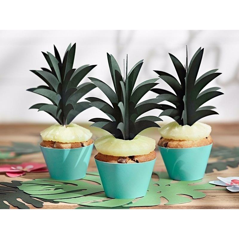 Tropische decoratie prikkers ananas