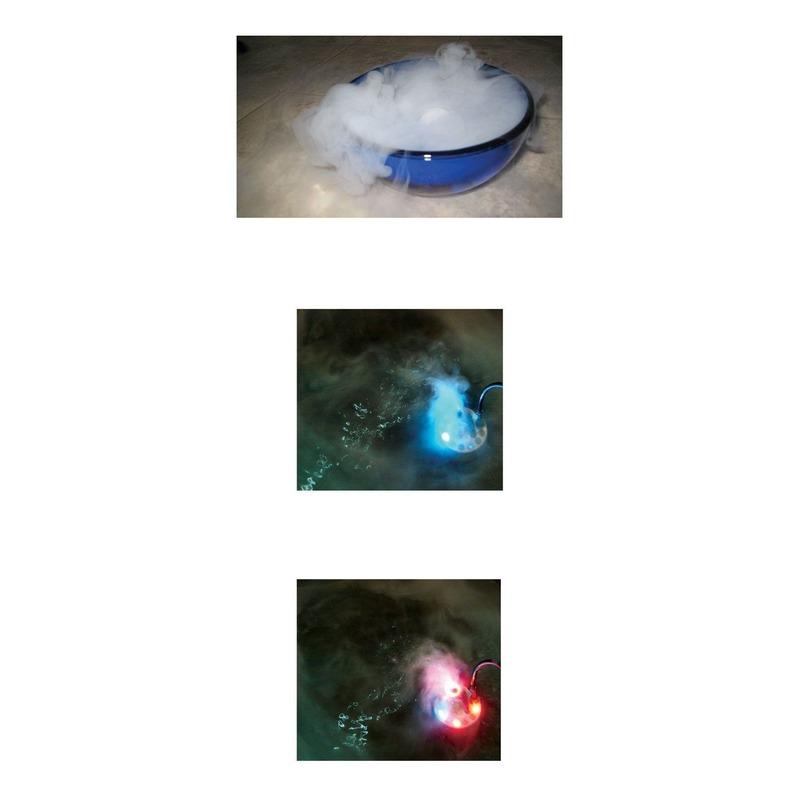 LED verlichting rook machine